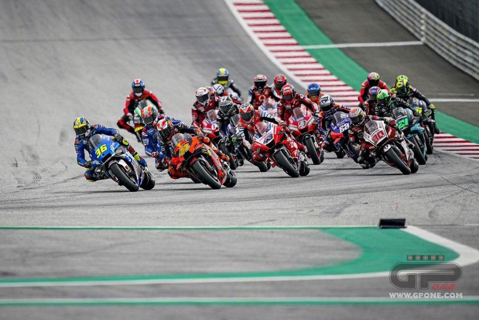 MotoGP: Calendario 2021: tornano le 'doppiette', dopo il Qatar, Red Bull Ring e Misano