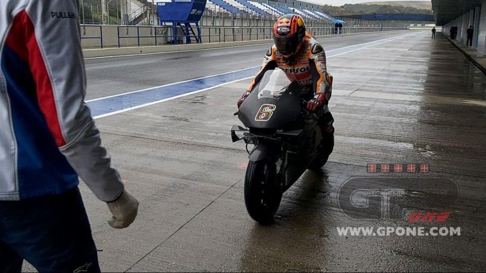 MotoGP: Stefan Bradl inaugura il 2021 della Honda a Jerez