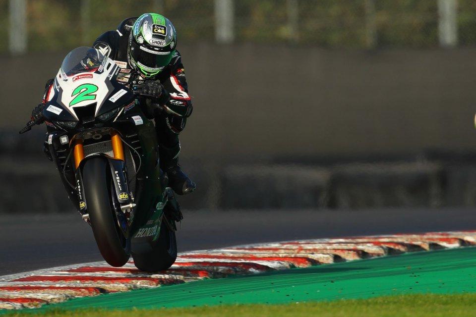 SBK: BSB, Glenn Irwin e Ryo Mizuno con Honda Racing UK nel 2021