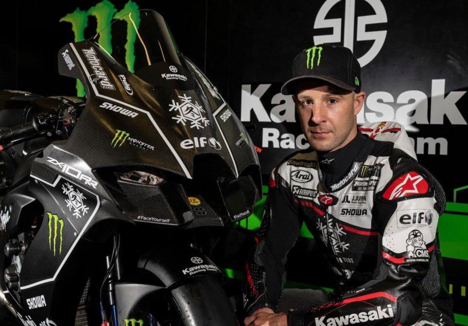 "SBK: Rea: ""The new Kawasaki is faster than the Honda MotoGP? A nice plus."""