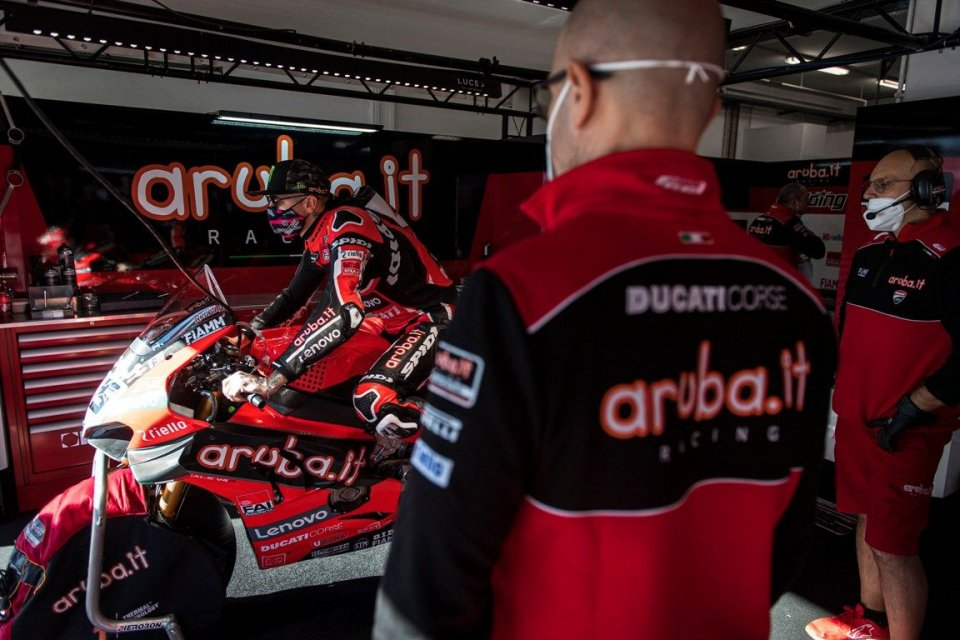 SBK: Redding isn't enough! Ducati focuses on a pack against Rea.