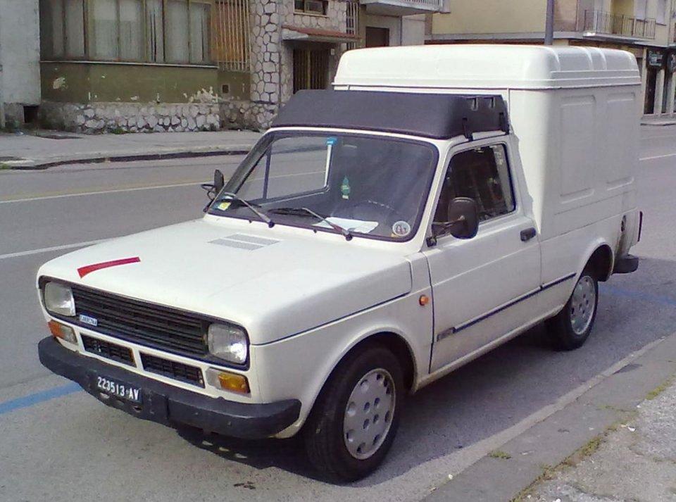 Auto - News: Fiat Fiorino da record: 983 Km/h secondo l'autovelox
