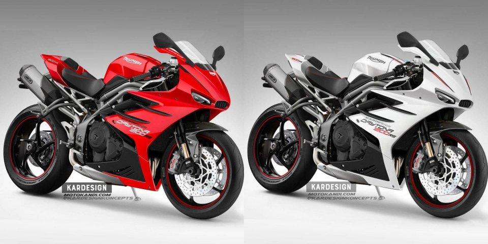 Moto - News: Triumph Daytona 1200 RS: un concept immagina la rinascita della sportiva