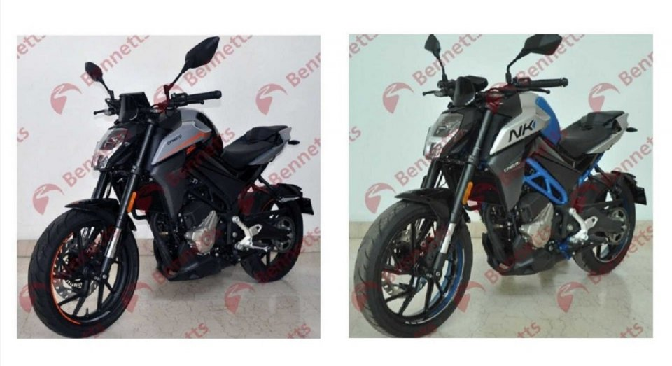 Moto - News: CFMoto NK 250 e 300 2021: ecco le prime immagini