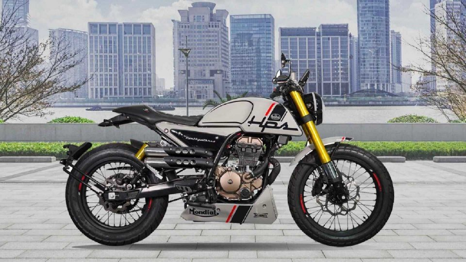 Moto - News: F.B. Mondial HPS 125, per una nuova generazione di motociclisti