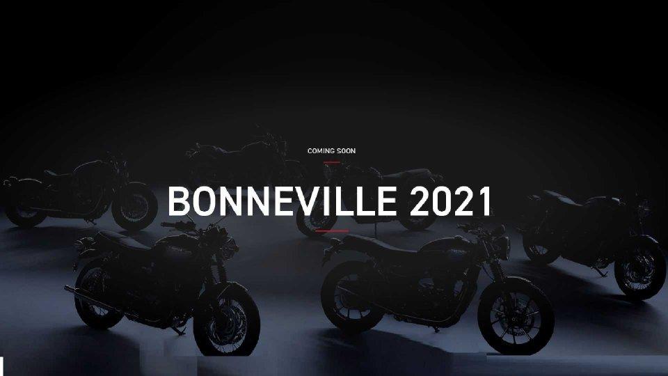 Moto - News: Triumph Bonneville, le modern classic 2021 si aggiornano all'Euro 5