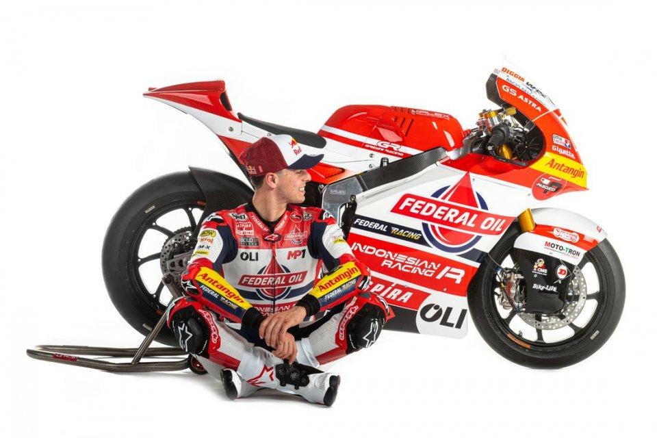 """Moto2: Di Giannantonio: """"Obiettivo MotoGP nel 2022 con Gresini, ora penso al Qatar"""""""