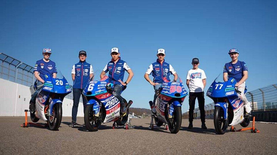 Moto3: Il team PrustelGP sceglie il Sachsenring per svelare le sue KTM