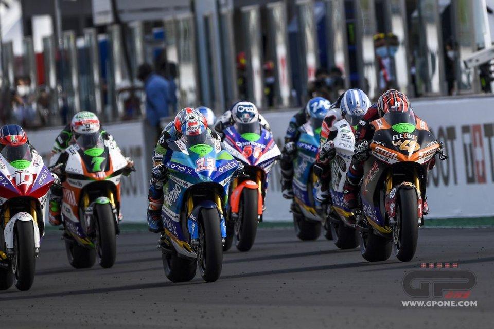 MotoE: La MotoE accende i motori: primo test del nuovo anno a Jerez