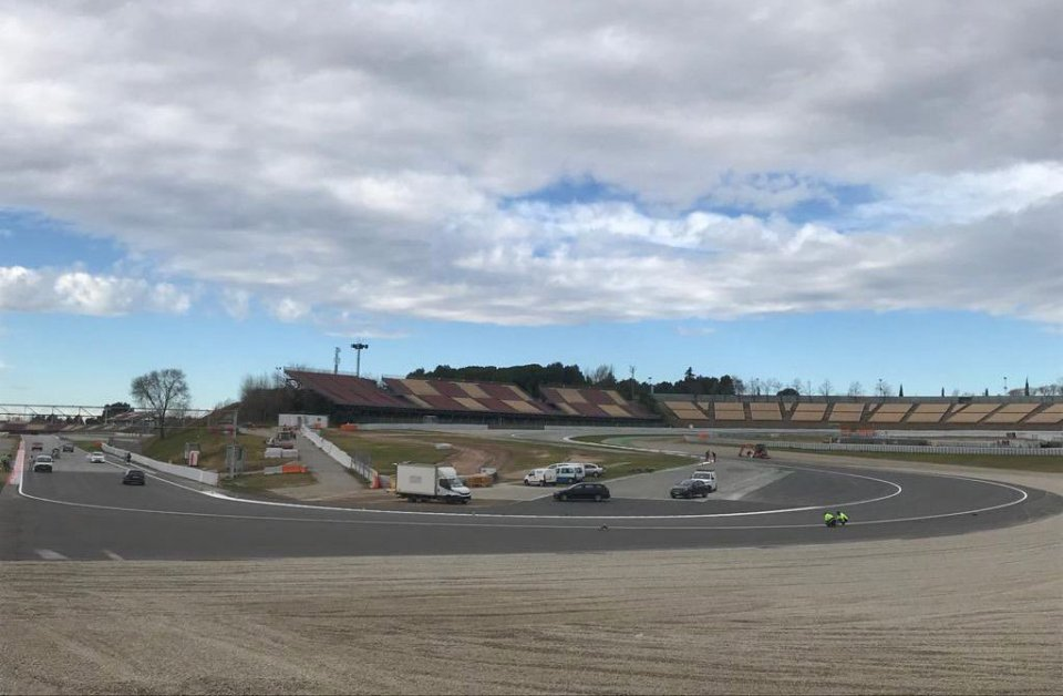 MotoGP: Work completed on the Barcelona circuit: here is the new Turn 10