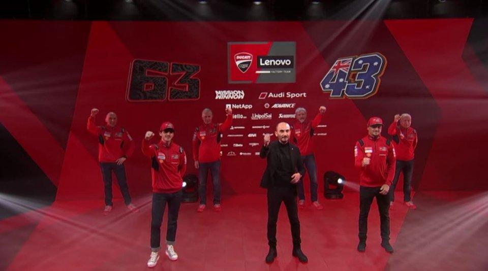 """MotoGP: Dall'Igna: """"Era giusto cambiare. Essere copiato dai giapponesi fa piacere"""""""