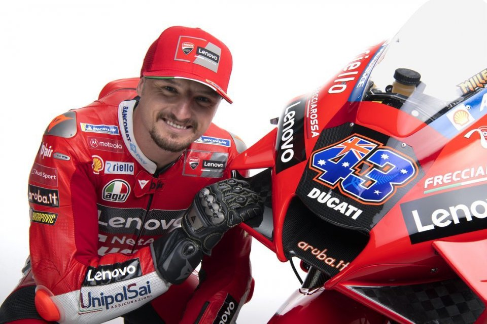 """MotoGP: Miller: """"Bayliss and Stoner. Two Ducati idols, but I don't feel the pressure."""""""