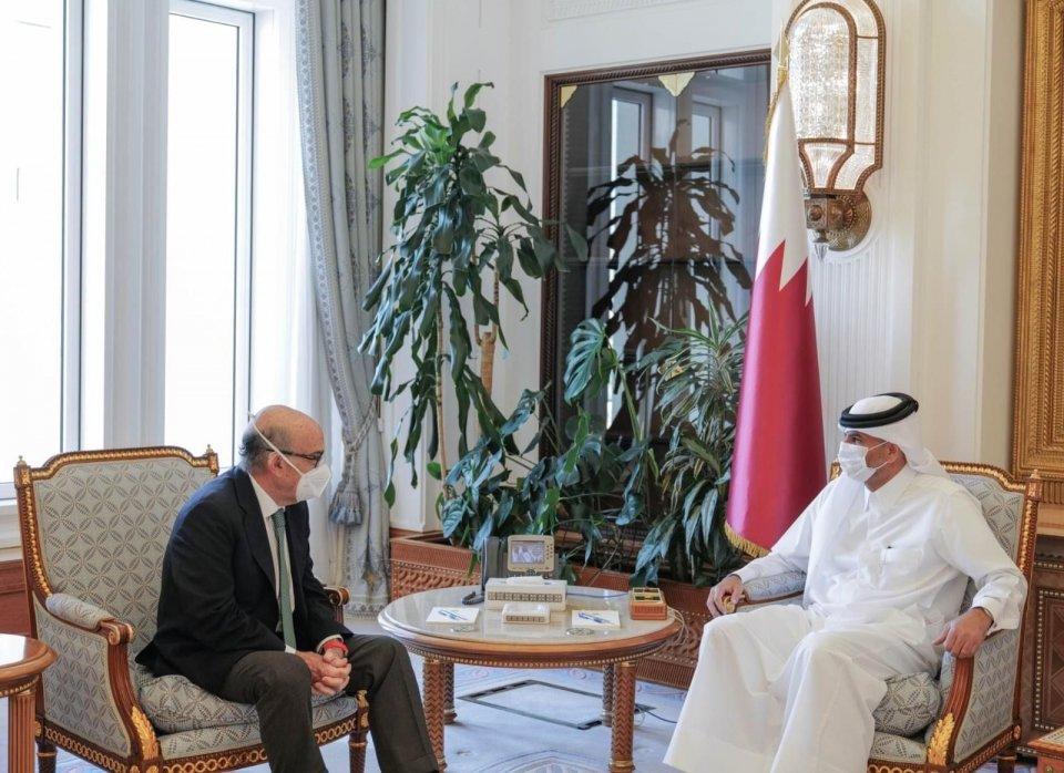 MotoGP: Carmelo Ezpeleta met Prime Minister of Qatar