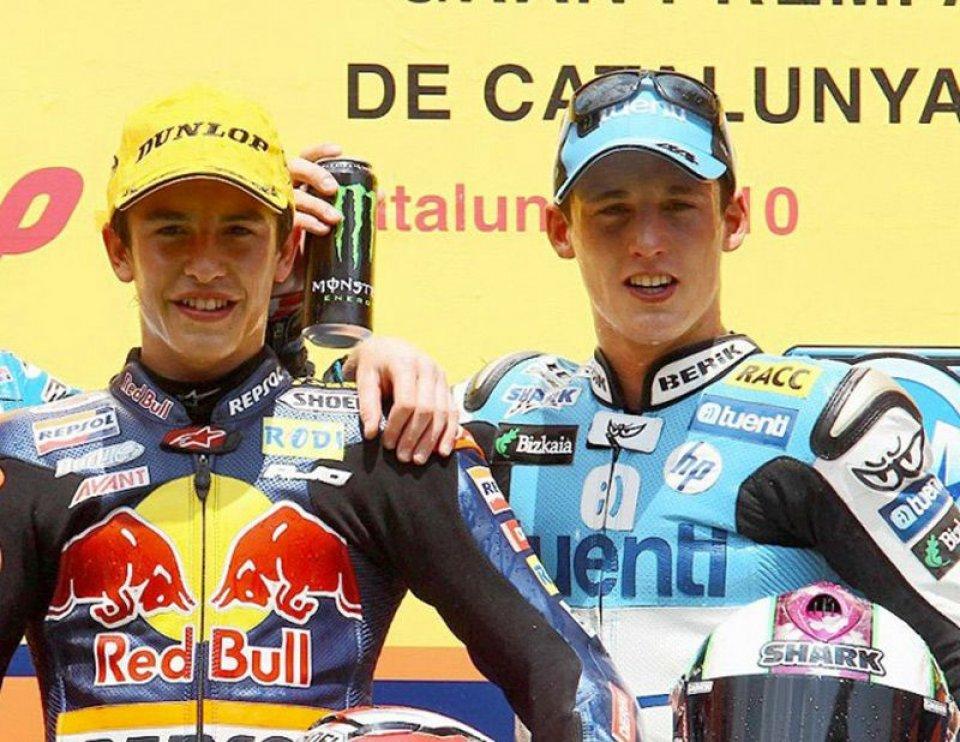 """MotoGP: Marquez: """"In 125 e Moto2 io e Pol Espargarò non potevamo vederci"""""""