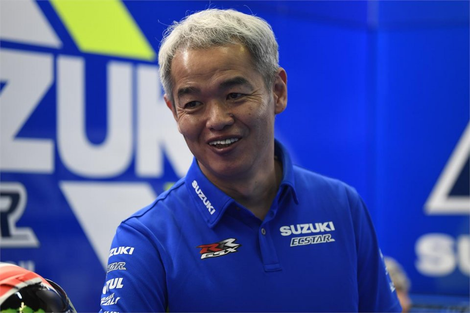 """MotoGP: L'idea di Sahara (Suzuki): """"Un test il giovedì del primo Gran Premio"""""""