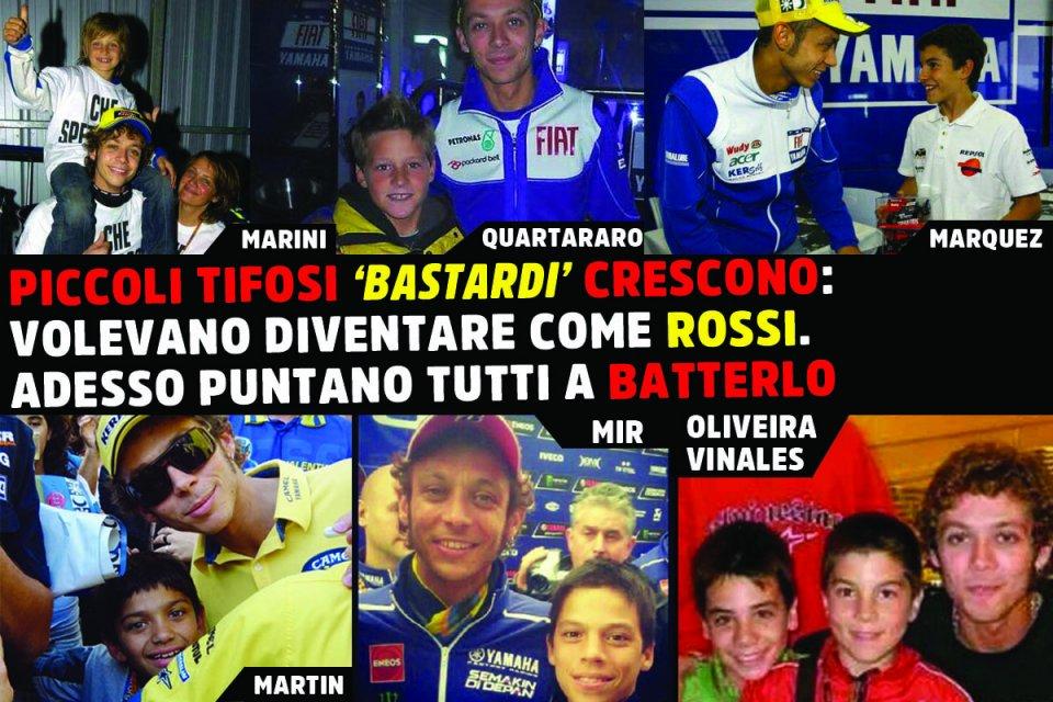 MotoGP: Piccoli tifosi 'bastardi' crescono: volevano una foto con Rossi, ora solo batterlo