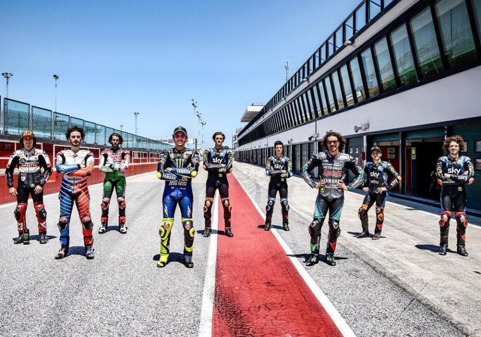 MotoGP: Tests in Portimao for Rossi and the VR46 riders postponed due to bad weather