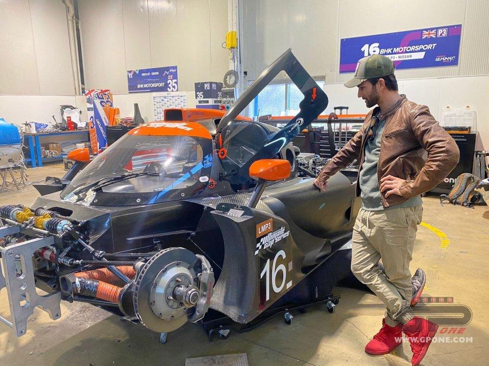 News: Mattia Pasini: un futuro a quattro ruote nell'Endurance?