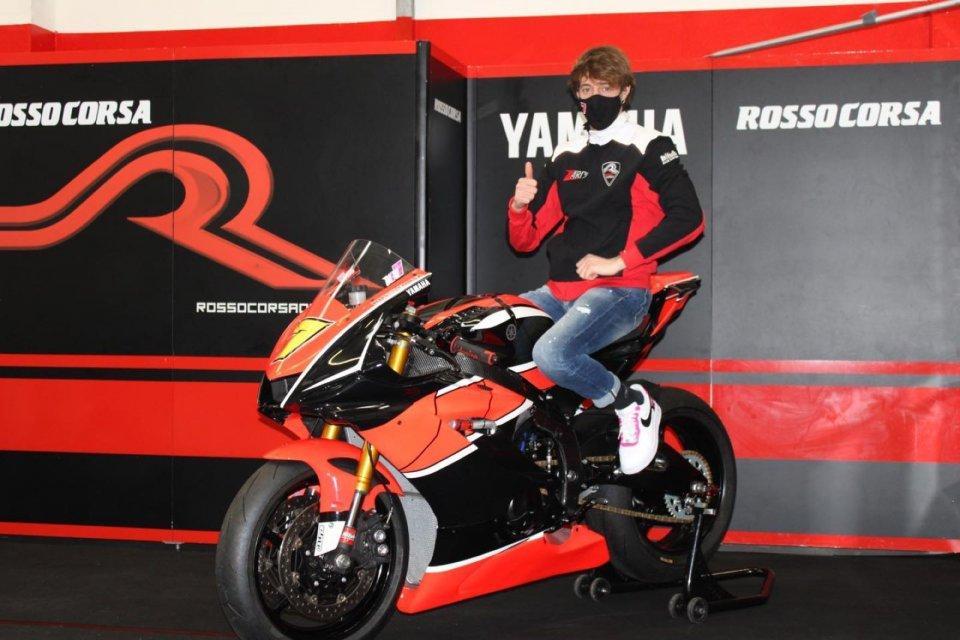 SBK: Nicola Settimo passa al CIV SS600 con il Team Rosso Corsa