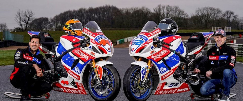 SBK: BSB, Danny Kent and Gino Rea with Buildbase Suzuki in 2021