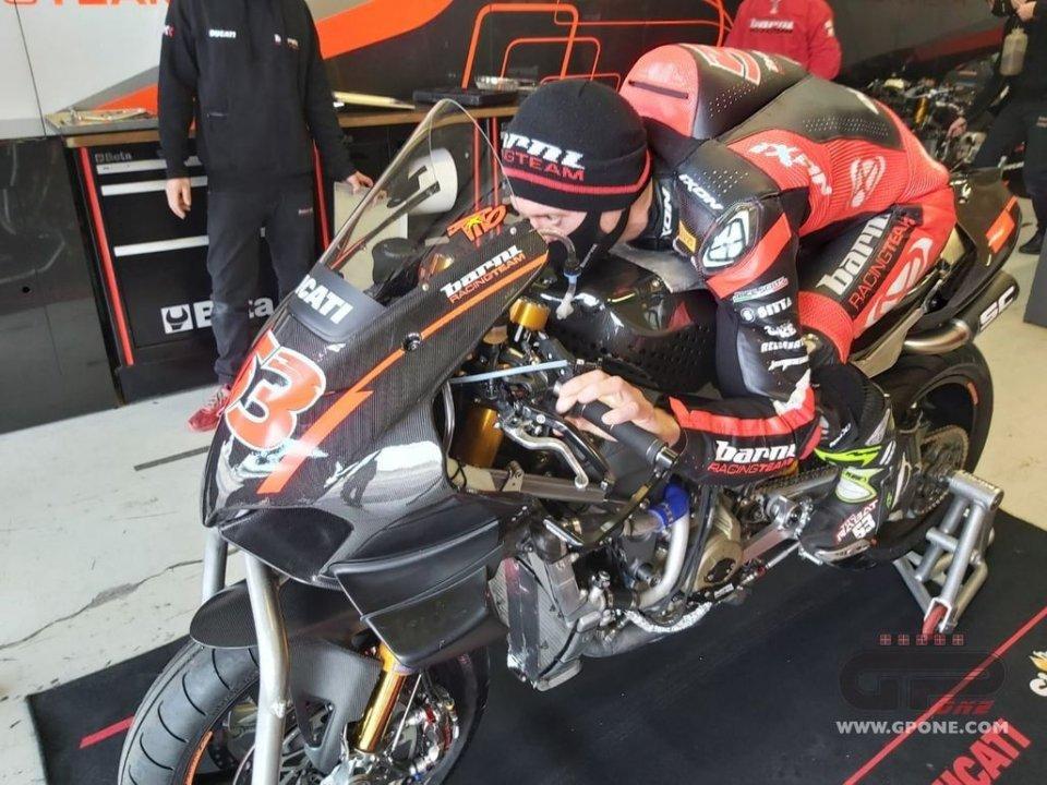 SBK: Rabat debutta a Misano sulla Ducati V4, il Covid ferma invece Go Eleven