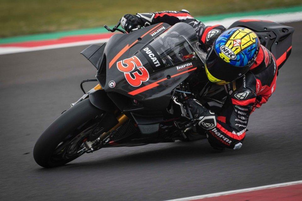 """SBK: Rabat: """"Con la Ducati V4 mi sono divertito e ho scoperto il limite"""""""