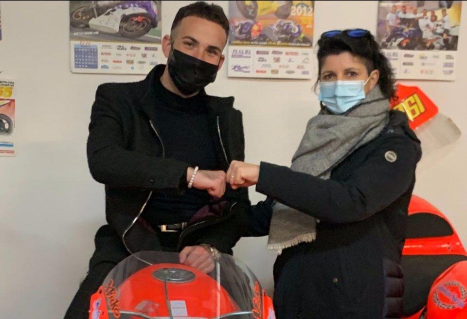 SBK: Giuseppe De Gruttola con il Team Terra e Moto nel CIV SS300 2021