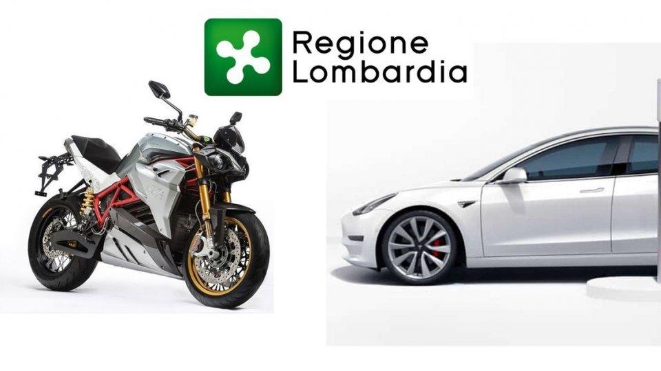 Auto - News: Lombardia: incentivi auto e moto elettriche al via. Importi e cosa c'è da sapere