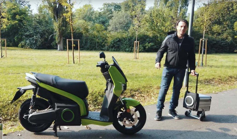 Moto - News: Honda, KTM, Piaggio e Yamaha d'accordo per le batterie intercambiabili