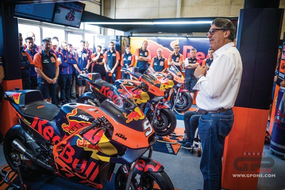 """MotoGP: Pierer: """"L'obiettivo di KTM per il 2021 è vincere il titolo in MotoGP"""""""