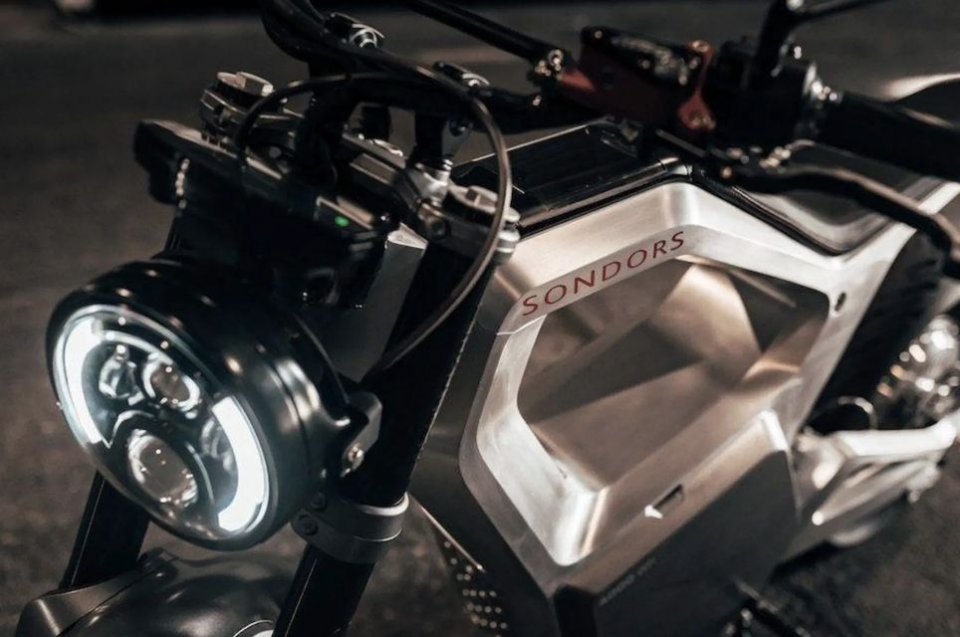 Moto - News: Sondors Metacycle: l'elettrica da 5.000 dollari, 20 cavalli e sto!