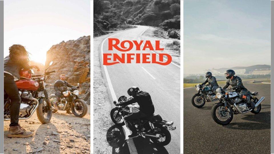 Moto - News: Royal Enfield Interceptor 650 e Continental GT 650 my 2021: le nuove colorazioni