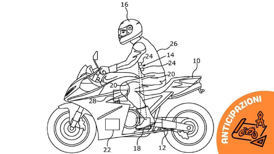 """Moto - News: BMW studia l'abbigliamento """"con la scossa"""" per aumentare la sicurezza"""