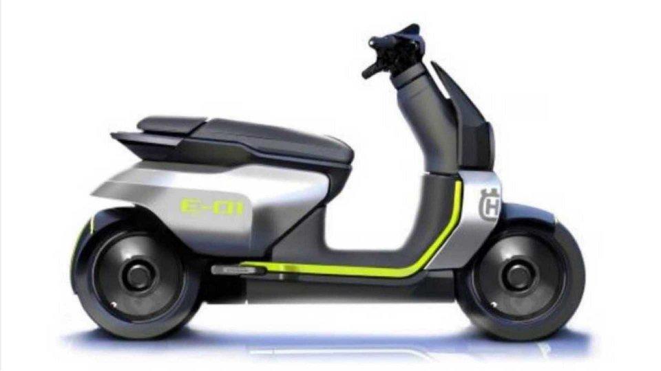 Moto - News: Husqvarna E-01, lo scooter elettrico rimandato al 2022