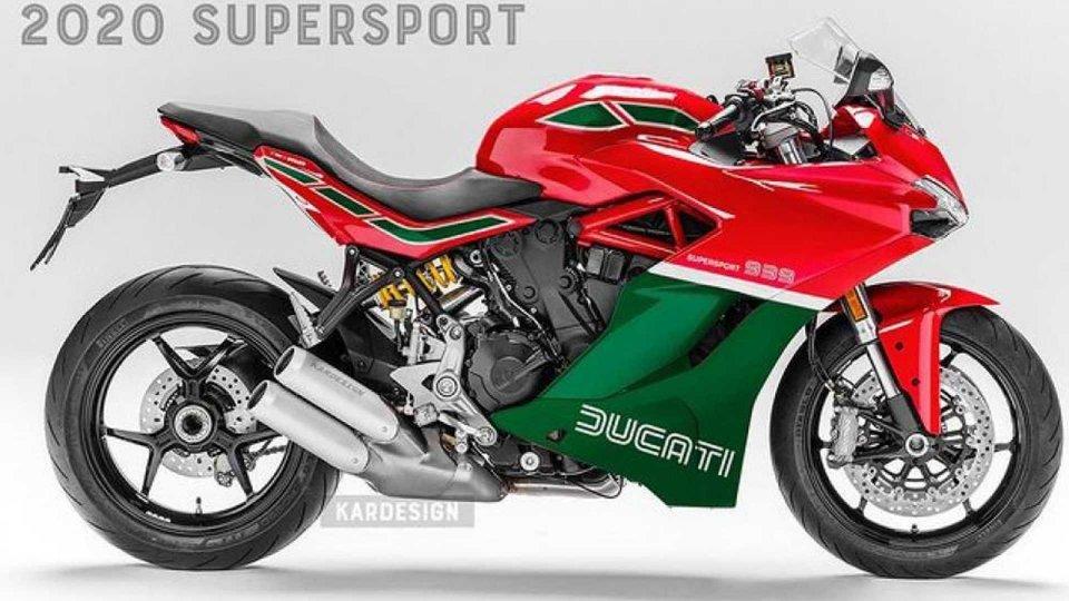 Moto - News: Supersportive di oggi con i colori di ieri: l'esperimento di KarDesign
