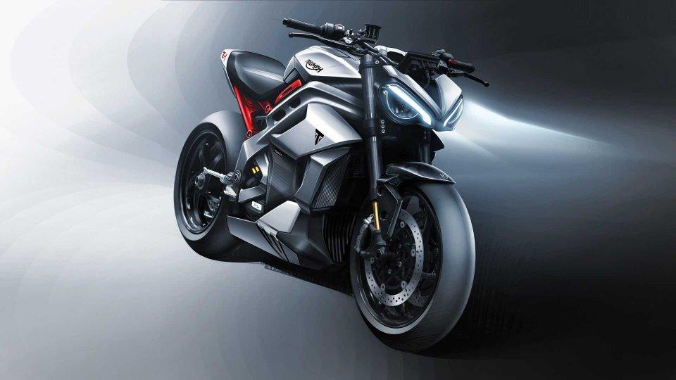Moto - News: Triumph TE-1 Prototype, la moto elettrica fa un passo in avanti