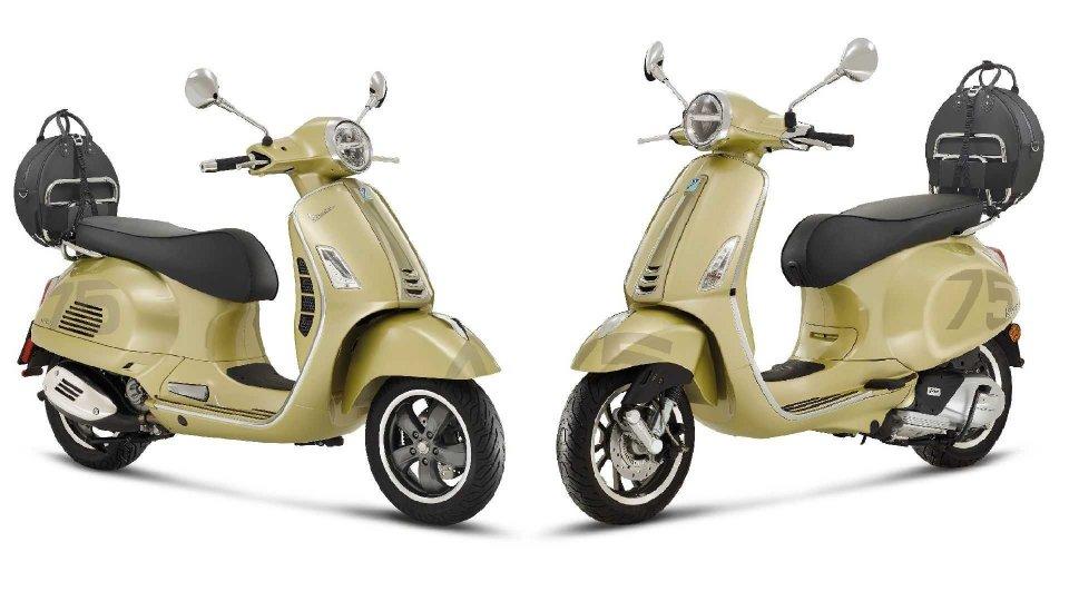 Moto - News: Vespa Primavera 75th e GTS 75th, serie speciale per i 75 anni