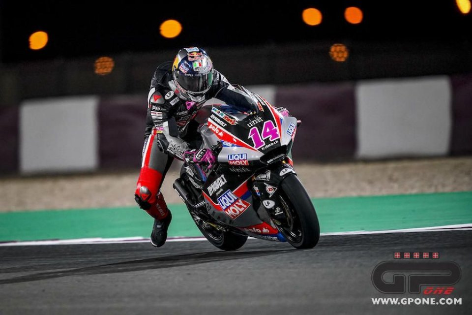 """Moto2: Arbolino: """"Una vita per guadagnare un decimo, perderlo un battito di ciglia"""""""