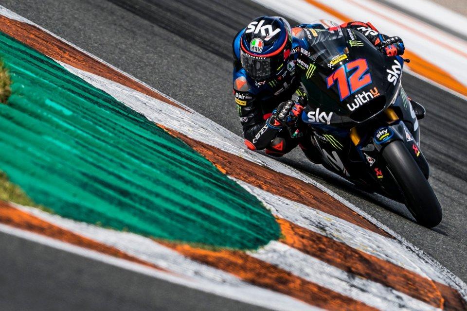 Moto2: Bezzecchi e Vietti: la sfida Mondiale 2021 parte da Valencia