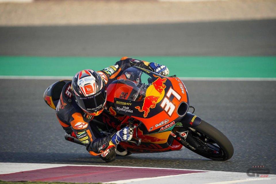 Moto3: FP1 Moto3 Losail: Acosta comanda le prime libere, Migno e Nepa in top ten