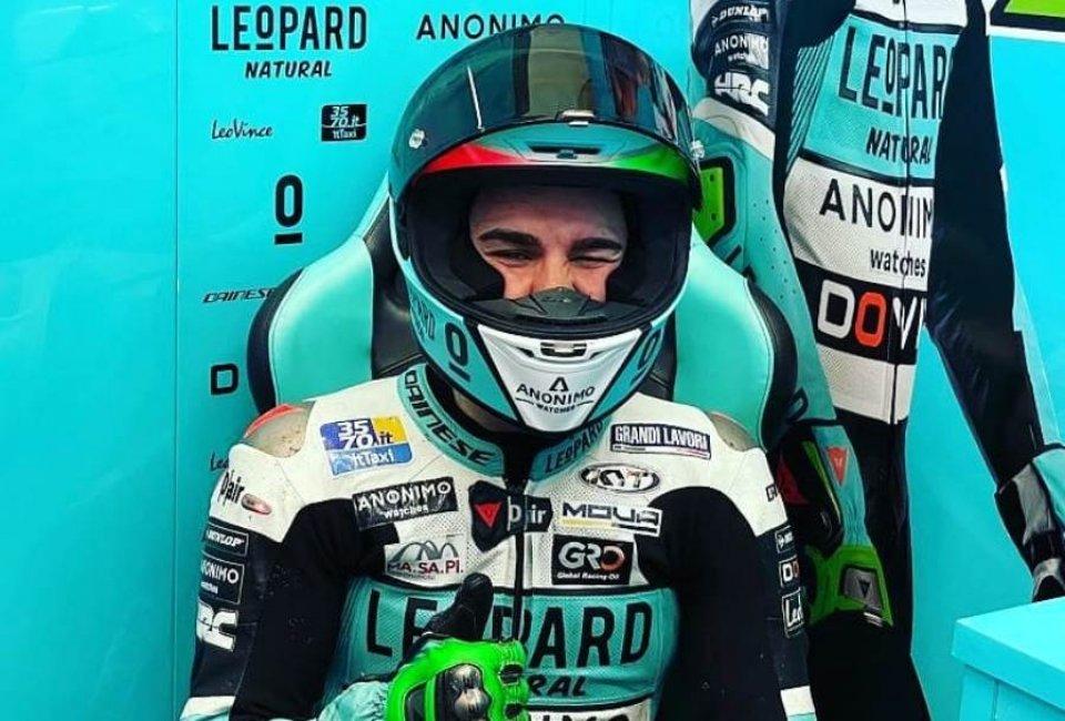 Foggia-Fenati: l'Italia brilla nei test di Jerez
