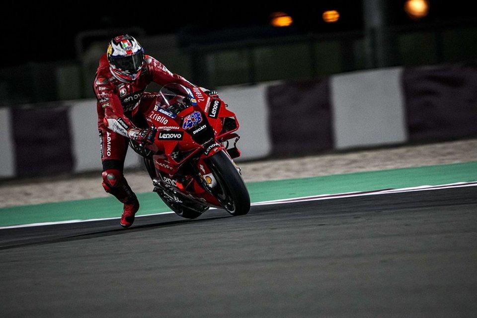 MotoGP: Test Qatar 2: Miller batte il record di Marquez. Quartararo 2°, Rossi 13°