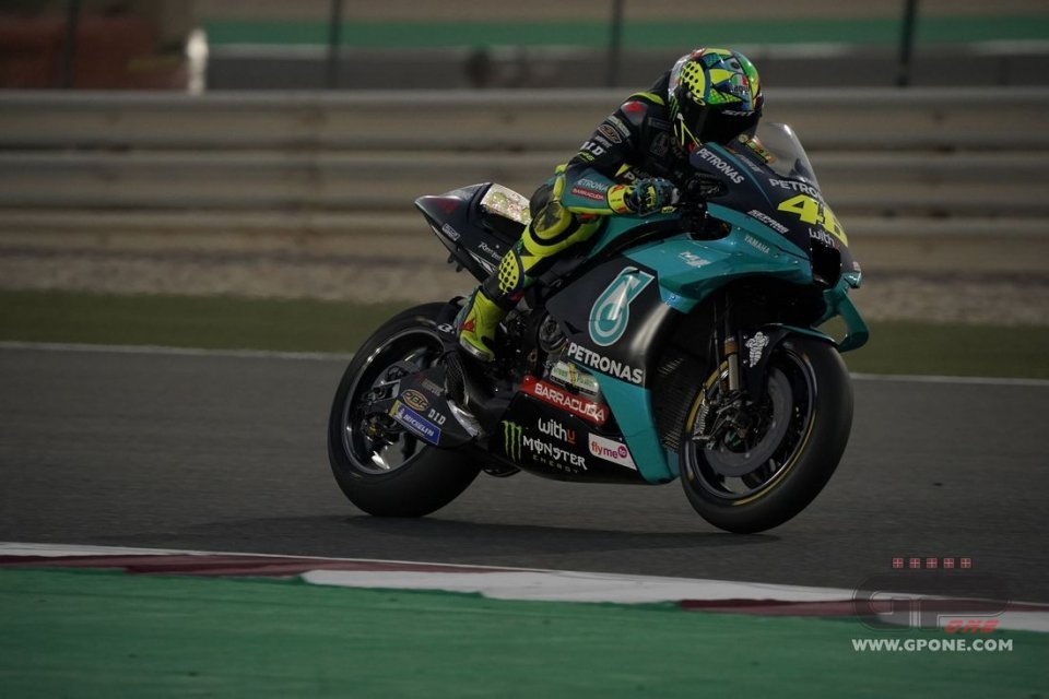 """MotoGP: Rossi: """"This morning I was excited, being with Petronas gave me strength"""""""