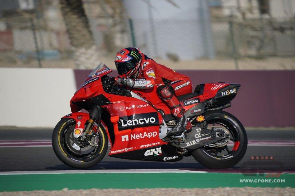 """MotoGP: Bagnaia: """"L'abbassatore anteriore in partenza? Fa un bella differenza"""""""
