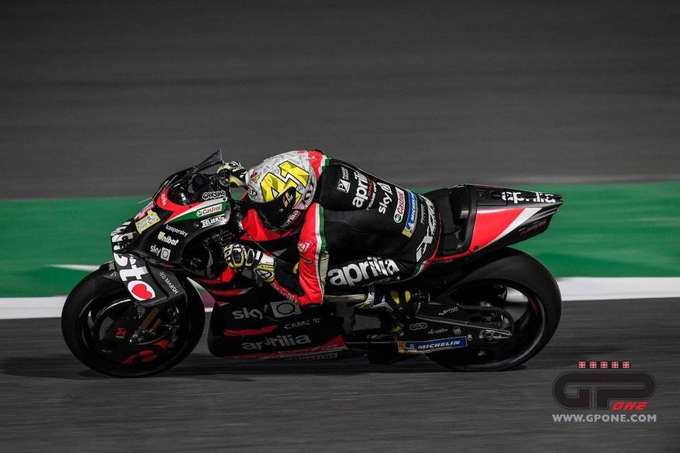 """MotoGP: Espargarò: """"The Aprilia is fast, but you need muscles to ride it"""""""