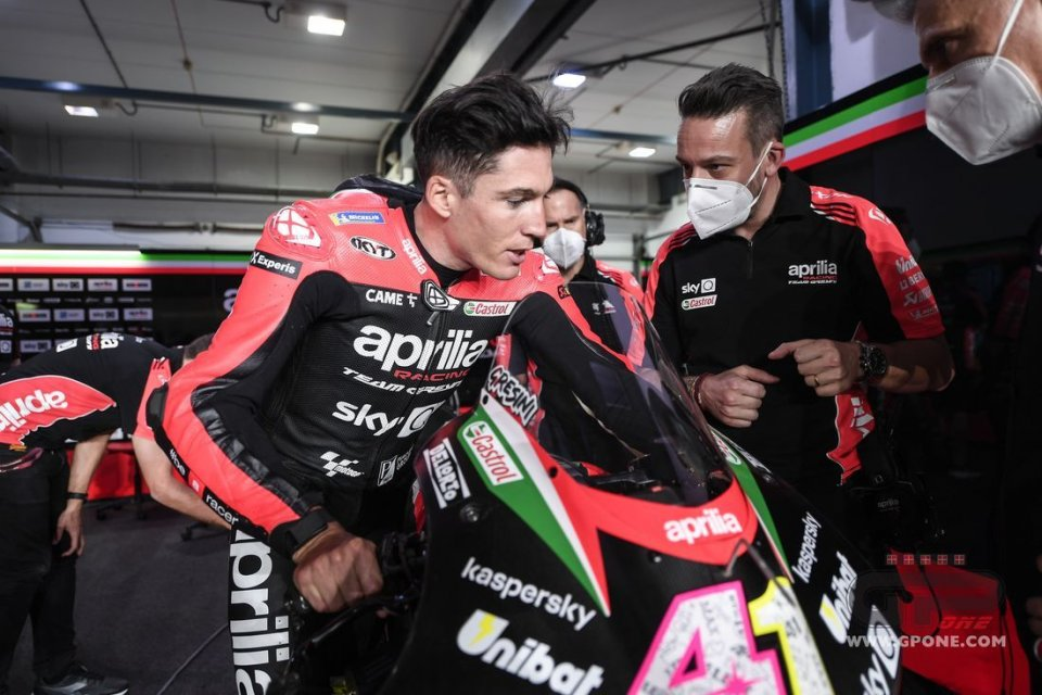 "MotoGP: Aleix Espargarò 1st in Qatar: ""I dedicate it to Gresini, he would be proud"""
