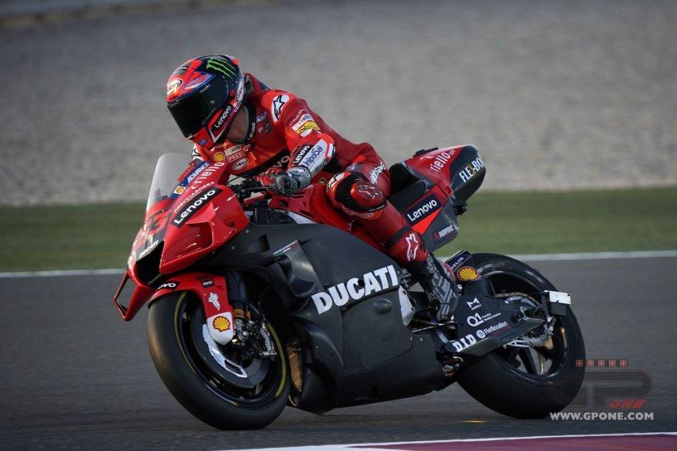"""MotoGP: Bagnaia e Miller promuovono la nuova aerodinamica Ducati: """"nessun contro"""""""