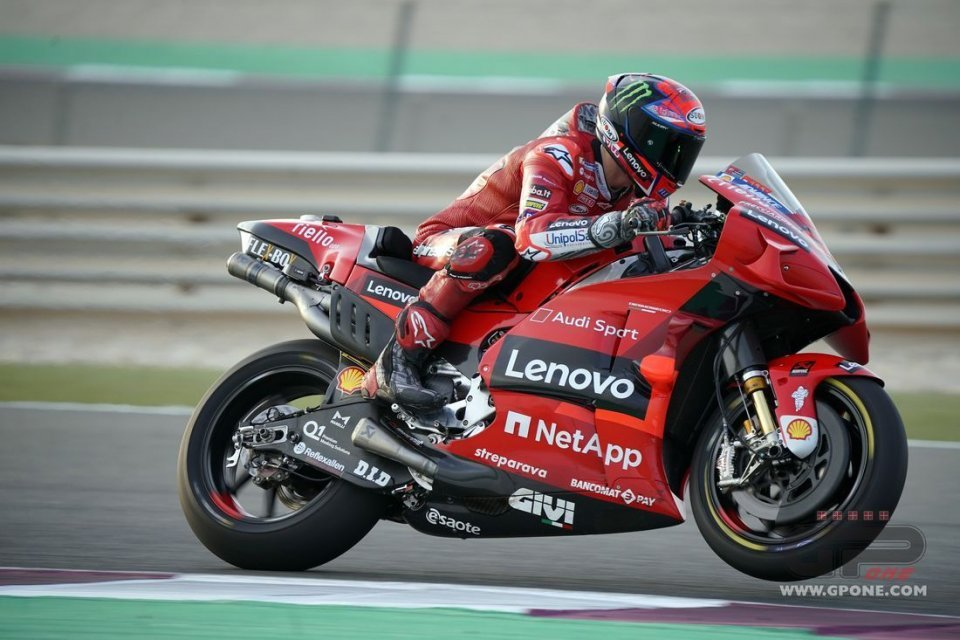 """MotoGP: Bagnaia not bothered by Miller's record """"A fast lap is not a problem for me"""""""