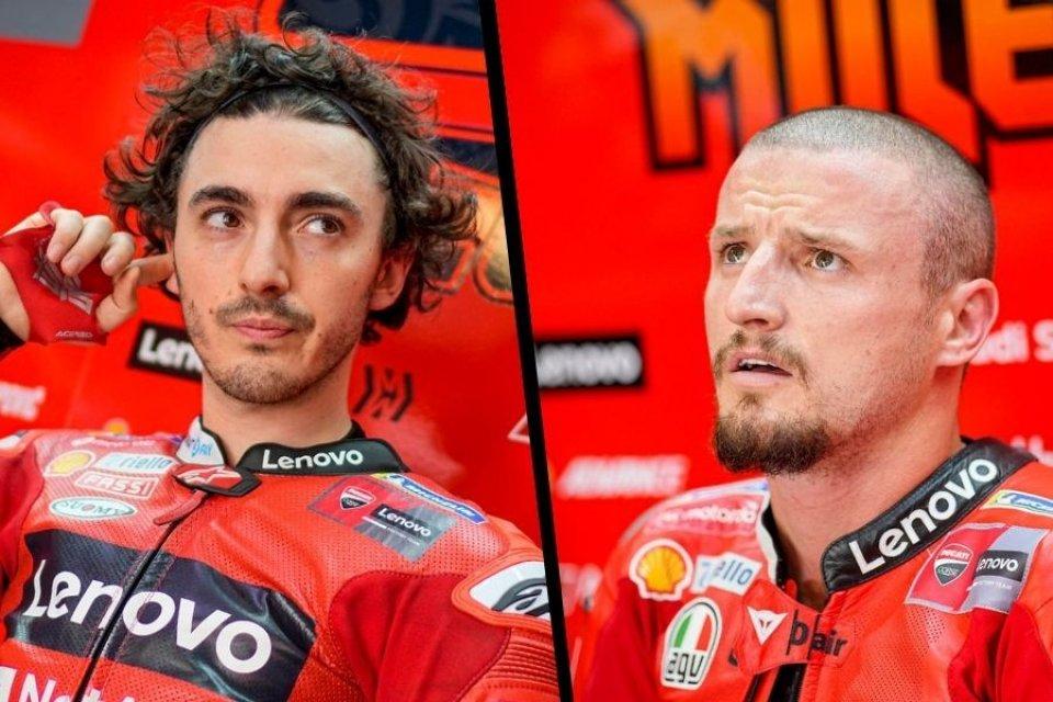 """MotoGP: Bagnaia: """"Con Ducati voglio ottenere qualcosa di più di un podio"""""""