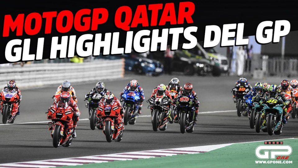 MotoGP: MotoGP Qatar: gli Highlights della vittoria di Vinales a Losail